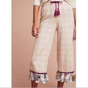 Anthropologie Floreat Patchwork Sleep Pants M